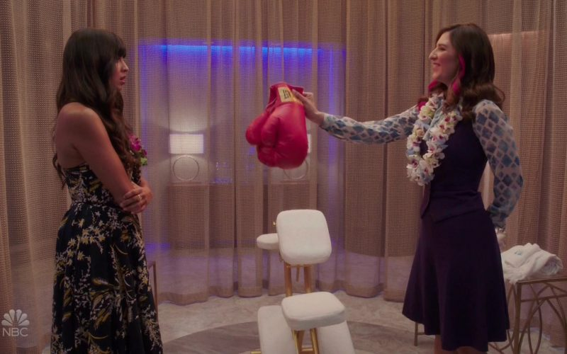 Everlast Boxing Gloves Held by D'Arcy Carden as Janet in The Good Place Season 4 Episode 3 (1)