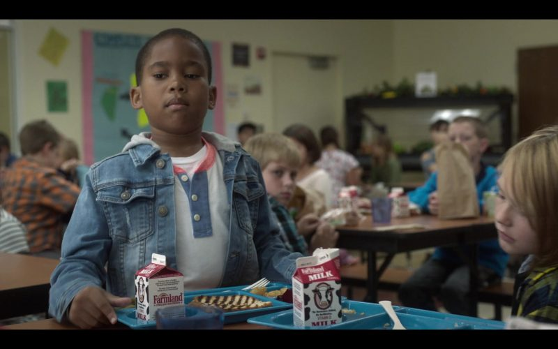 Farmland Milk Enjoyed by Ja'Siah Young as Dion Warren in Raising Dion (1)