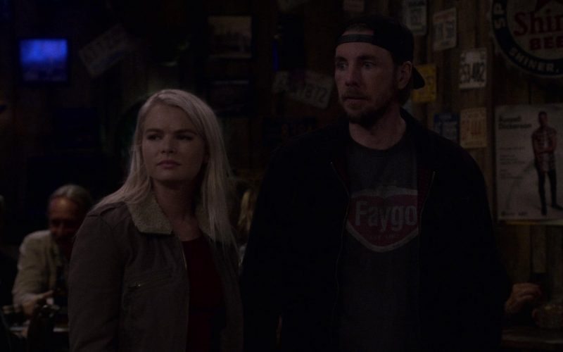 "Faygo T-Shirt Worn by Stephen Saux as Mike in The Ranch Season 4 Episode 5 ""Love and War"" (1)"