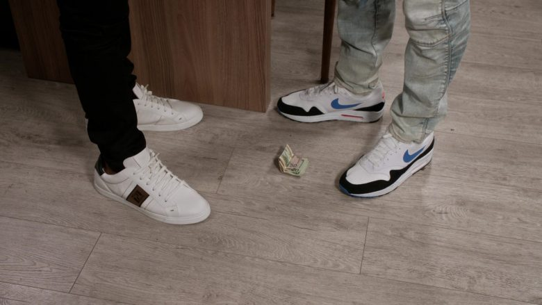 Fendi Sneakers Worn by Marcus Scribner as Andre Johnson Jr. & Nike Shoes Worn by Anthony Anderson as Andre Johnson in Black-ish - Season 6, Episode 2, Every Day I'm Struggling (2019) - TV Show Product Placement