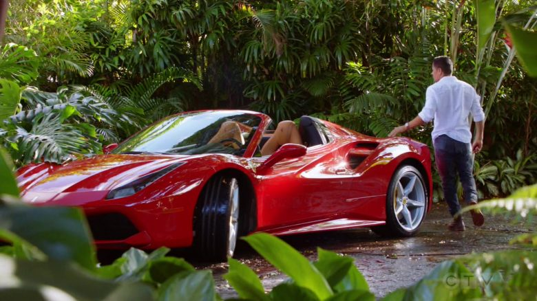 "Ferrari Sports Car Driven by Jay Hernandez as Thomas Magnum in Magnum P.I. Season 2 Episode 3 ""Knight Lasts Forever"" (2019) - TV Show Product Placement"