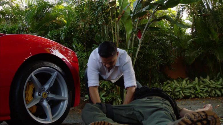 """Ferrari Sports Car Driven by Jay Hernandez as Thomas Magnum in Magnum P.I. Season 2 Episode 3 """"Knight Lasts Forever"""" (2019) - TV Show Product Placement"""