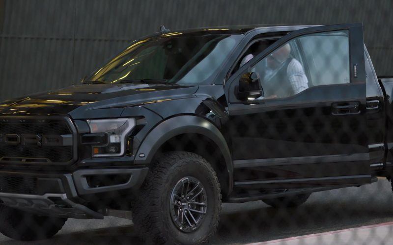 Ford Black Pickup Truck Used by Dwayne Johnson as Spencer Strasmore in Ballers (1)