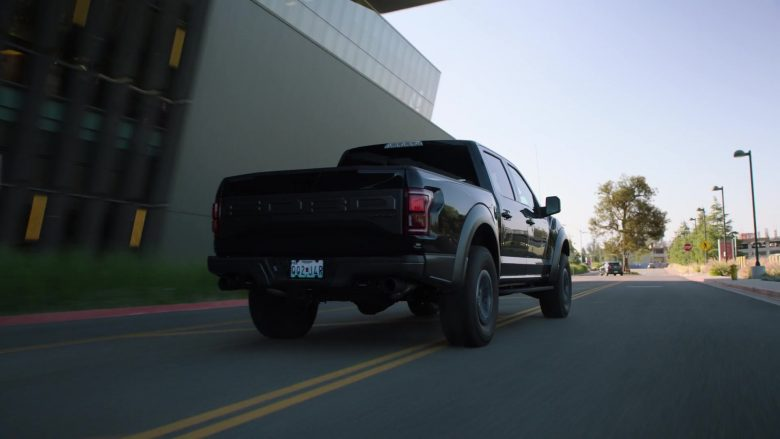 Ford Black Pickup Truck Used by Dwayne Johnson as Spencer Strasmore in Ballers (2)