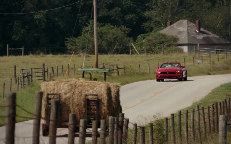 Ford Mustang Convertible Red Sports Car Used by Bruce Greenwood in The Resident (1)