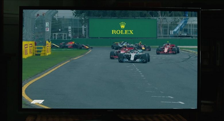 Formula 1 and Rolex in The Art of Racing in the Rain (2019) Movie