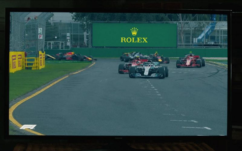 Formula 1 and Rolex in The Art of Racing in the Rain (2019)