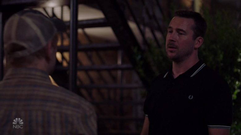 Fred Perry Polo Shirt Worn by Barry Sloane as Jake Reilly in Bluff City Law Season 1 Episode 5 (1)