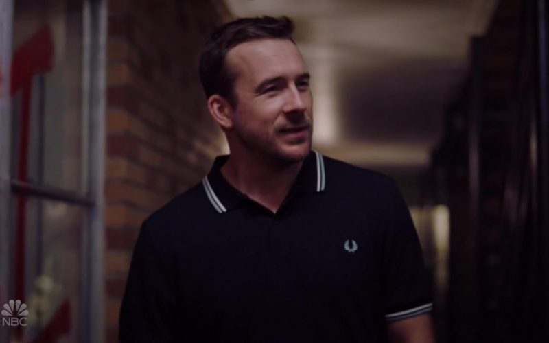 Fred Perry Polo Shirt Worn by Barry Sloane as Jake Reilly in Bluff City Law Season 1 Episode 5 (2)