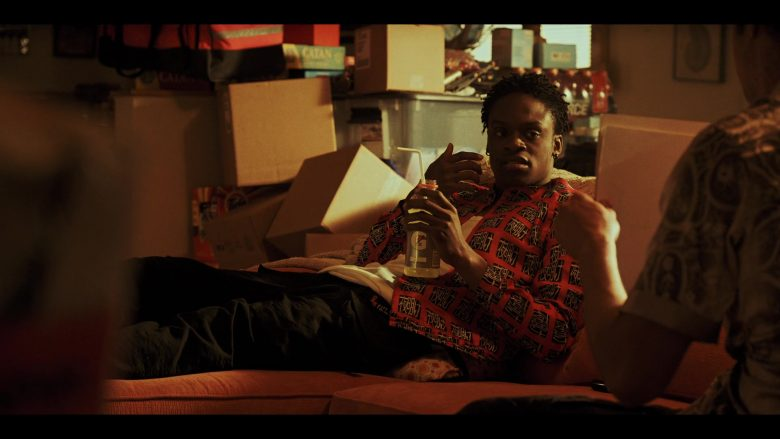 Gatorade Drink Enjoyed by Austin Crute as Wesley Fists in Daybreak Season 1 Episode 10 (2019) TV Show