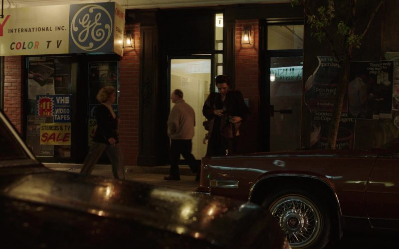 General Electric Sign in The Deuce