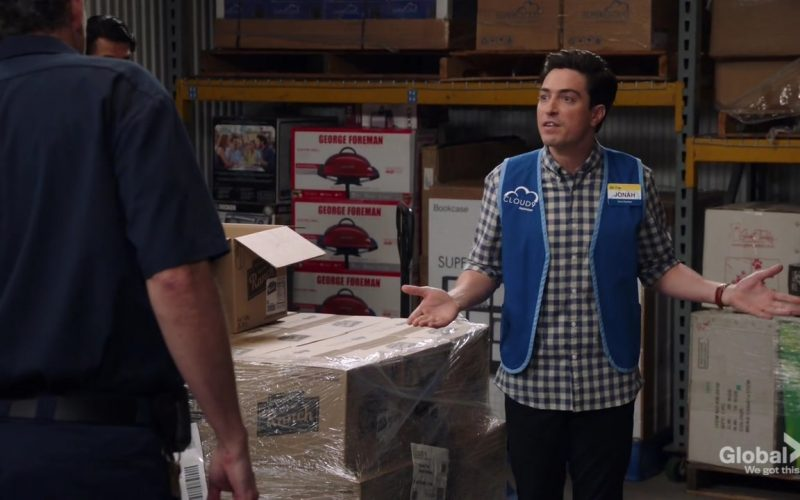 George Foreman Cooking in Superstore Season 5 Episode 3 Forced Hire