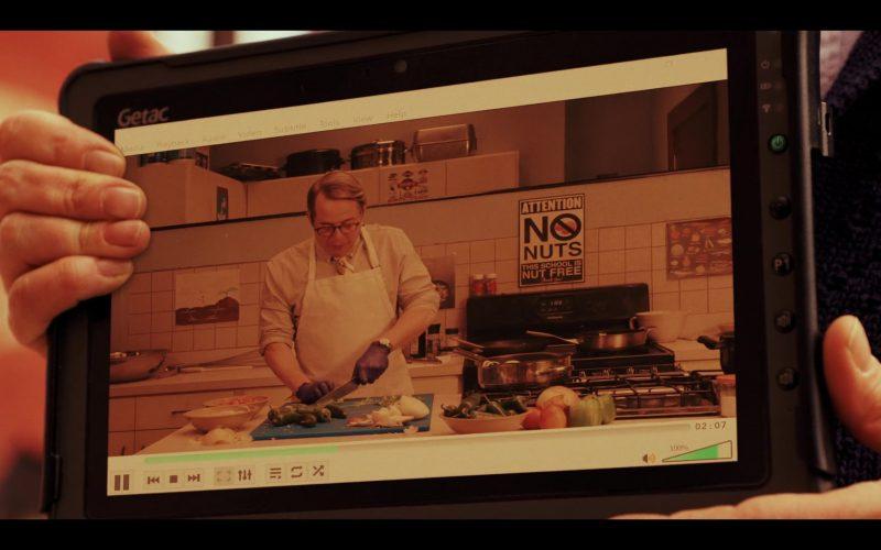 Getac Tablet Used by Matthew Broderick as Michael Burr in Daybreak Season 1 Episode 10