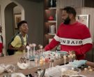 Givenchy Sweatshirt Worn by Anthony Anderson as Dre Johnson in Black-ish Season 6 Episode 5 (6)