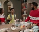 Givenchy Sweatshirt Worn by Anthony Anderson as Dre Johnson in Black-ish Season 6 Episode 5 (7)