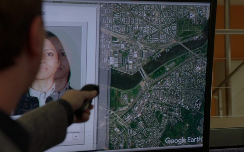 Google Earth in NCIS