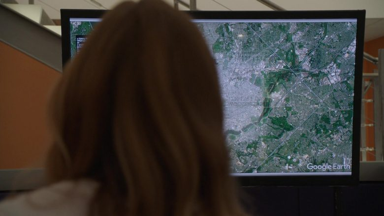 "Google Earth in NCIS Season 17 Episode 5 ""Wide Awake"" (2019) - TV Show Product Placement"