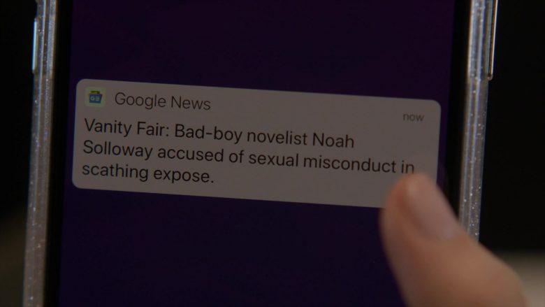 Google News App and Vanity Fair in The Affair Season 5 Episode 9 509