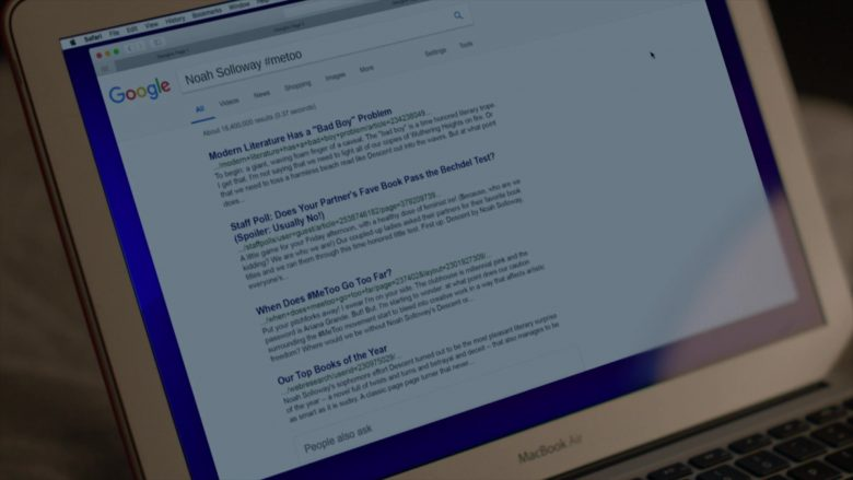 "Google Web Search in The Affair Season 5 Episode 9 ""509"" (2019) - TV Show Product Placement"