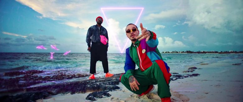 Gucci Jacket and Pants Outfit Worn by J Balvin in RITMO by The Black Eyed Peas (Bad Boys For Life Soundtrack, 2019) - Official Music Video Product Placement