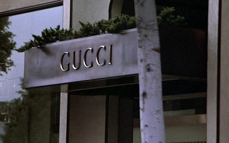 Gucci Store in A Night at the Roxbury