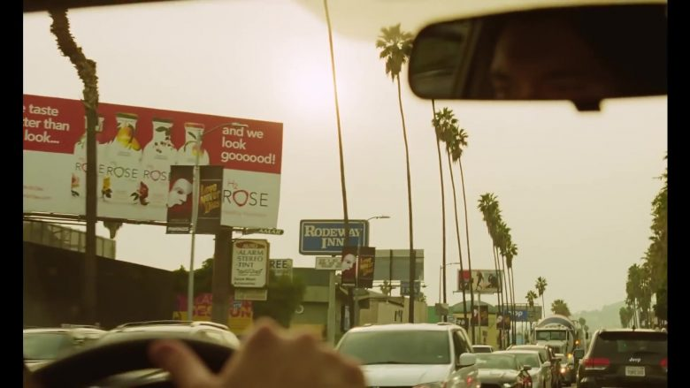 H2 Rose Water Billboard in Marriage Story (2019) - Movie Product Placement