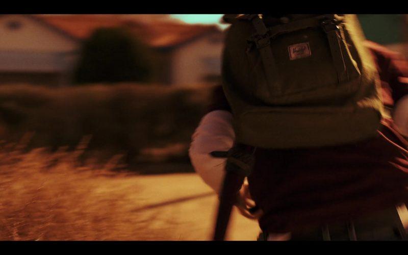 Herschel Backpack Used by Colin Ford as Josh Wheeler in Daybreak Season 1 Episode 1
