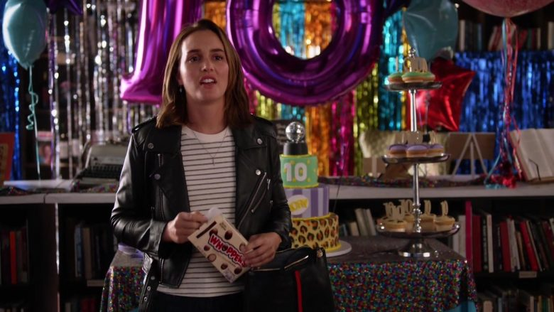 Hershey's Whoppers Malted Milk Balls Enjoyed by Leighton Meester as Angie D'Amato in Single Parents (1)