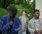 Hilfiger Blue Jacket Worn by Ashton Sanders as Bobby Diggs in Wu-Tang An American Saga (4)