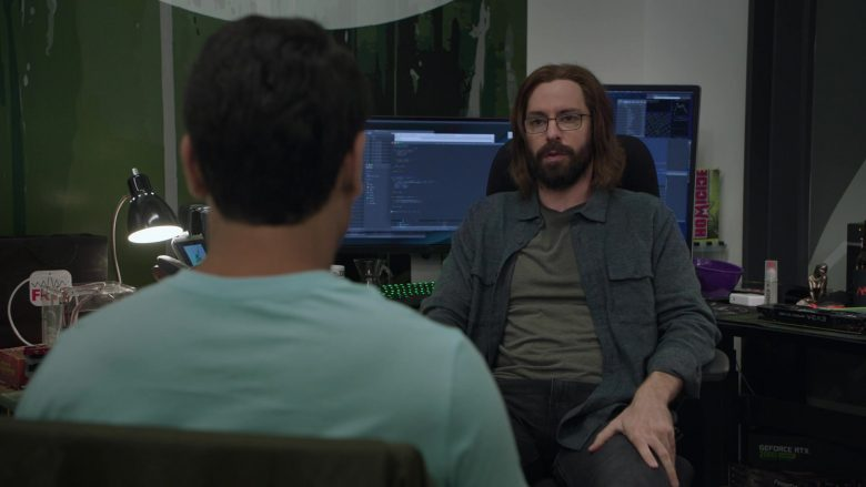 Homicide and Nvidia Geforce GTX 2080 in Silicon Valley Season 6 Episode 1