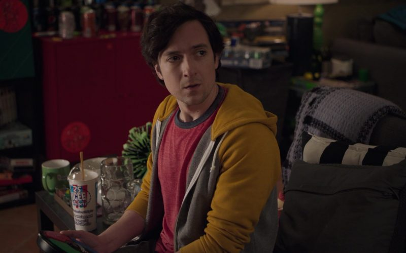 ICEE Drink Enjoyed by Josh Brener as Nelson 'Big Head' Bighetti in Silicon Valley Season 6 Episode 1 (2)