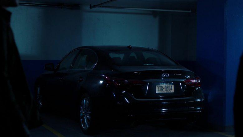 Infiniti Q50 Car in Power Season 6 Episode 9 Scorched Earth (1)