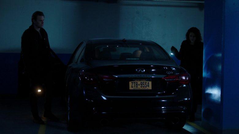 Infiniti Q50 Car in Power Season 6 Episode 9 Scorched Earth (2)
