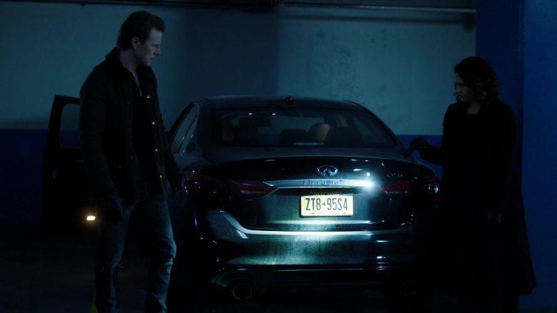 Infiniti Q50 Car in Power Season 6 Episode 9 Scorched Earth (3)