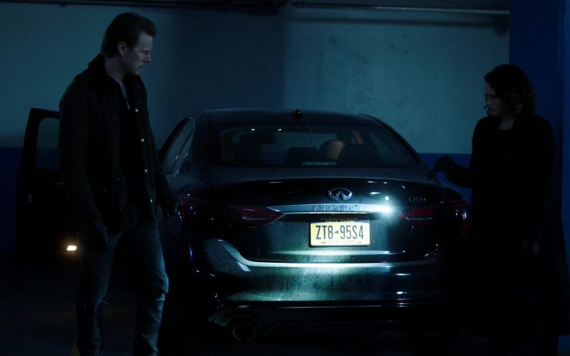 Infiniti Q50 Car in Power Season 6 Episode 9 Scorched Earth (3)