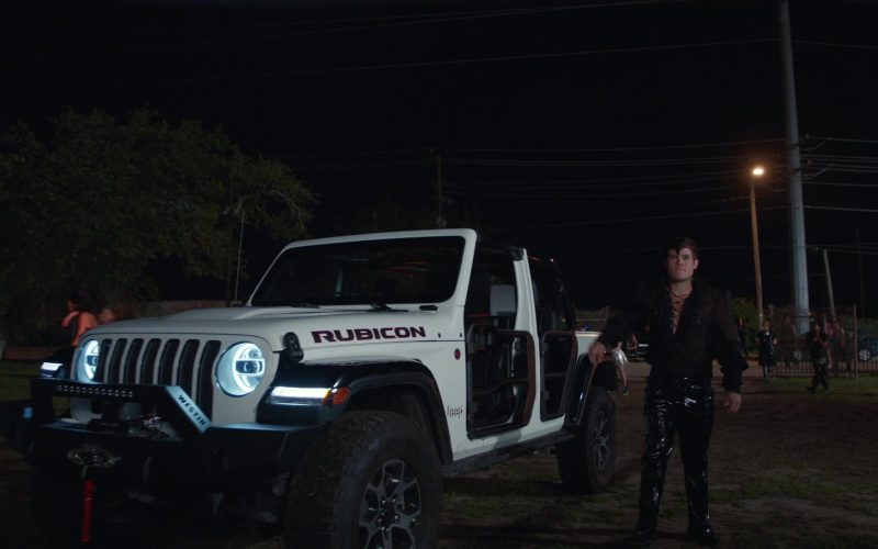 Jeep Rubicon White Car Used by Adam DeVine as Kelvin Gemstone in The Righteous Gemstones Season 1 Episode 9 (1)
