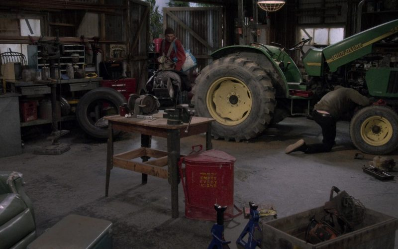 "John Deere Tractor in The Ranch Season 4 Episode 9 ""Welcome to the Future"" (1)"