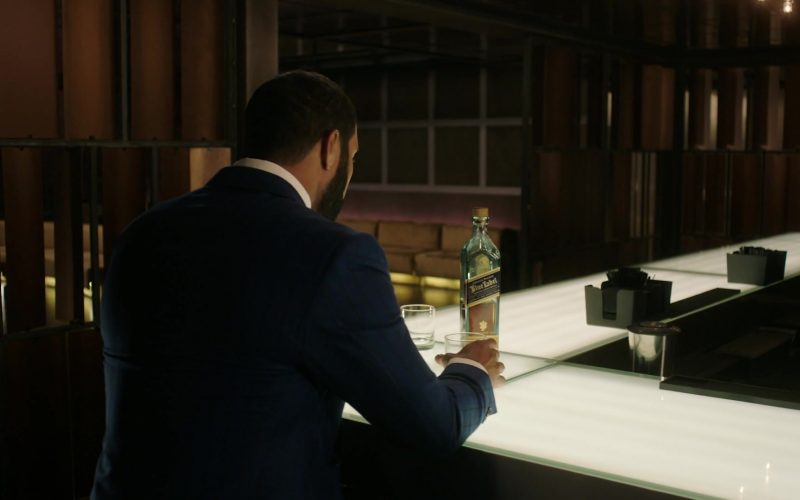 Johnnie Walker Blue Label Whisky Enjoyed by Omari Hardwick as James 'Ghost' St. Patrick in Power (1)
