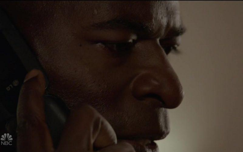 LG Mobile Phone in The Blacklist Season 7 Episode 2