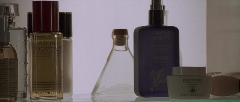 L'Occitane en Provence, Yves Saint Laurent & Phyto Men in American Psycho (2000) - Movie Product Placement