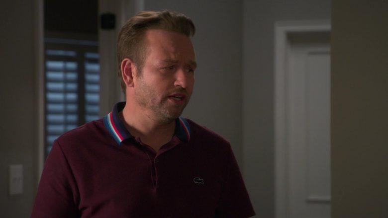 Lacoste Polo Shirt Worn by Dallas Roberts as Robert 'Bob' Armstrong Jr. in Insatiable Season 2 Episode 8 (1)