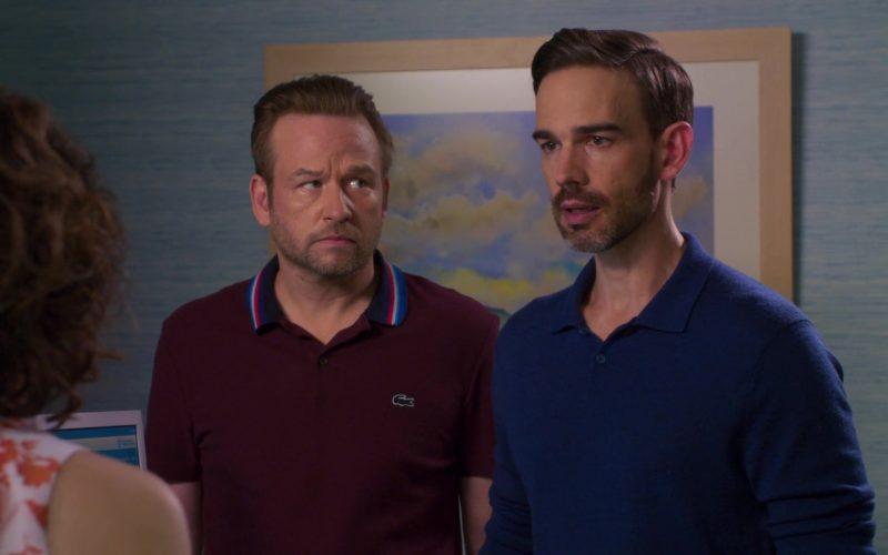Lacoste Polo Shirt Worn by Dallas Roberts as Robert 'Bob' Armstrong Jr. in Insatiable Season 2 Episode 8 (2)