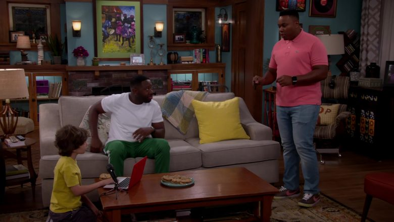 Lacoste Polo Shirt and Nike Shoes Worn by Marcel Spears as Marty in The Neighborhood (1)