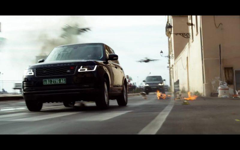 Land Rover Range Rover Vogue Black Car in 6 Underground