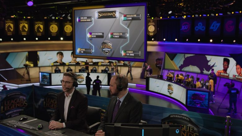 """League of Legends Video Game Championship in Ballers Season 5 Episode 8 """"Players Only"""" (2019) - TV Show Product Placement"""
