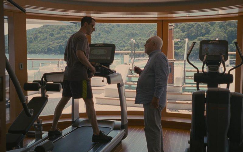 Life Fitness Exercise Equipment in Succession Season 2 Episode 10