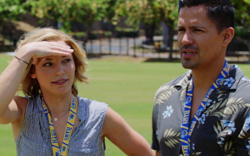 Los Angeles Rams in Magnum P.I. Season 2 Episode 4 Dead Inside (1)