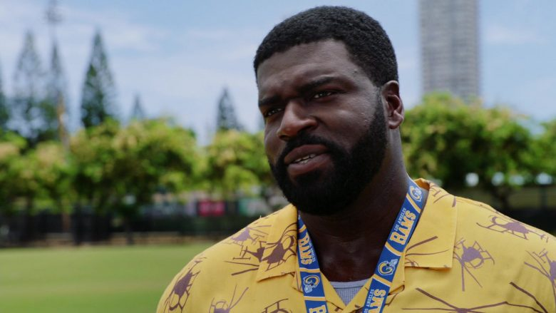 "Los Angeles Rams in Magnum P.I. Season 2 Episode 4 ""Dead Inside"" (2019) - TV Show Product Placement"