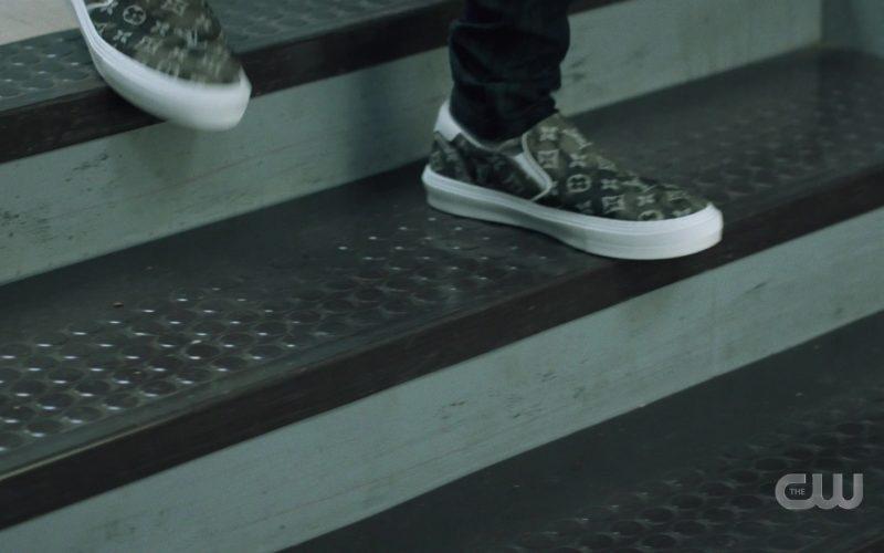 Louis Vuitton Shoes in Black Lightning Season 3 Episode 3
