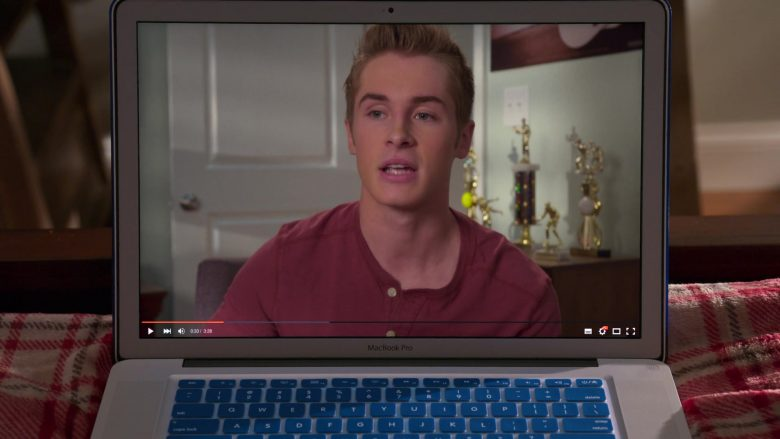 MacBook Pro Laptop in Insatiable Season 2 Episode 6